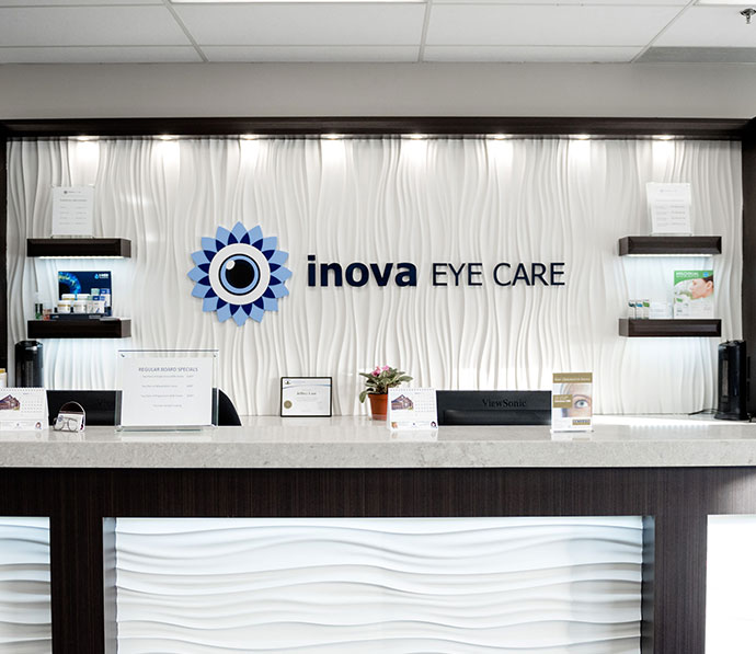 Reception at Inova Eye Care